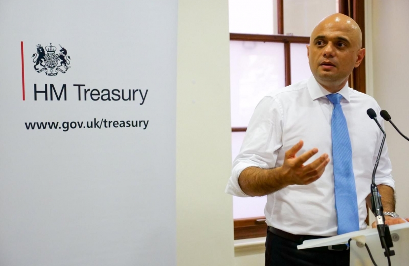 Sajid Javid announces fast-tracked spending round.