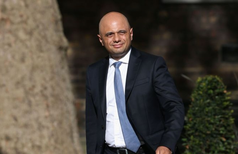 Sajid Javid MP appointed Chancellor of the Exchequer