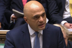 Sajid Javid at the dispatch box